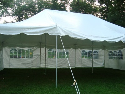 20x30 Pole Tent - $200.00 & Canopy Tents